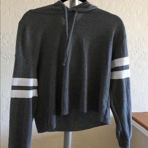 Hollister cropped sweatshirt